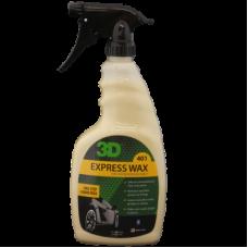Быстрый в использовании спрей экспресс-воск 3D (0,71 л) - Express Wax 401OZ24