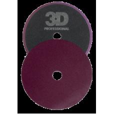 Грубый полировальник 3D-Dk Purple Cutting pad 140mm K-55DP