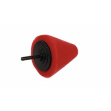Конусный полировальник большой твердый красный LERATON
