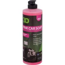 PINK CAR SOAP - КОНЦЕНТРИРОВАННЫЙ PH-СБАЛАНСИРОВАННЫЙ ШАМПУНЬ, 473 МЛ, 202OZ16, 3D