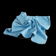 Салфетка для стекол 40х40 см. голубая Au-6900