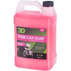 PINK CAR SOAP - КОНЦЕНТРИРОВАННЫЙ PH-СБАЛАНСИРОВАННЫЙ ШАМПУНЬ, 3.78 Л, 202G01, 3D