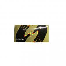 Перчатки резиновые размер L комплект 100 шт Au-074