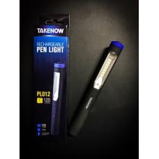 Инспекционный фонарь-ручка Rechargeable LED Penlight TAKENOW PL012
