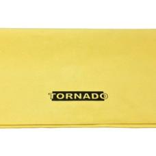 Замша жёлтая искусственная TORNADO