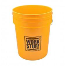Ведро Work Stuff 20л желтое